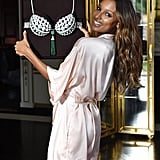 Victoria's Secret Images of Jasmine Tookes's Stretch Marks