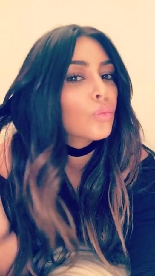 kim kardashians ombre hair 2016 popsugar beauty