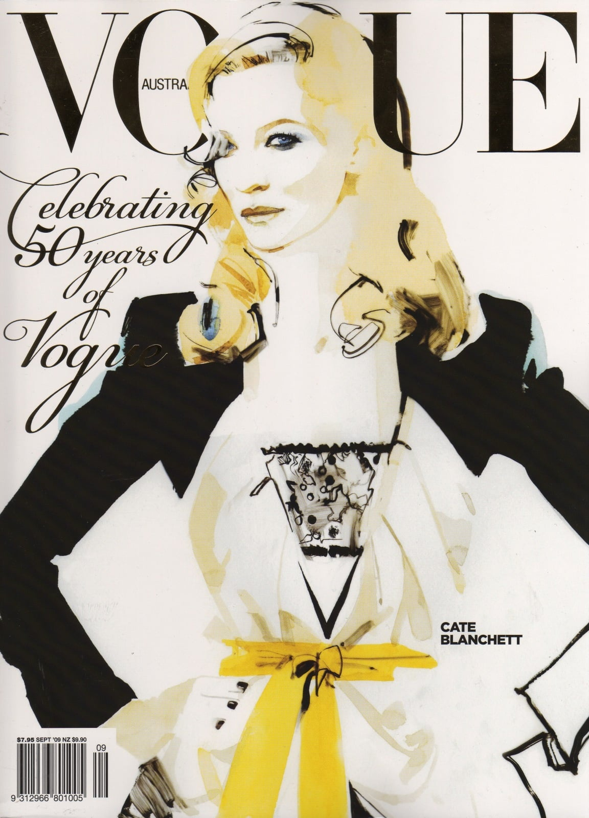 Cate Blanchett Helps Vogue Australia Celebrate 50