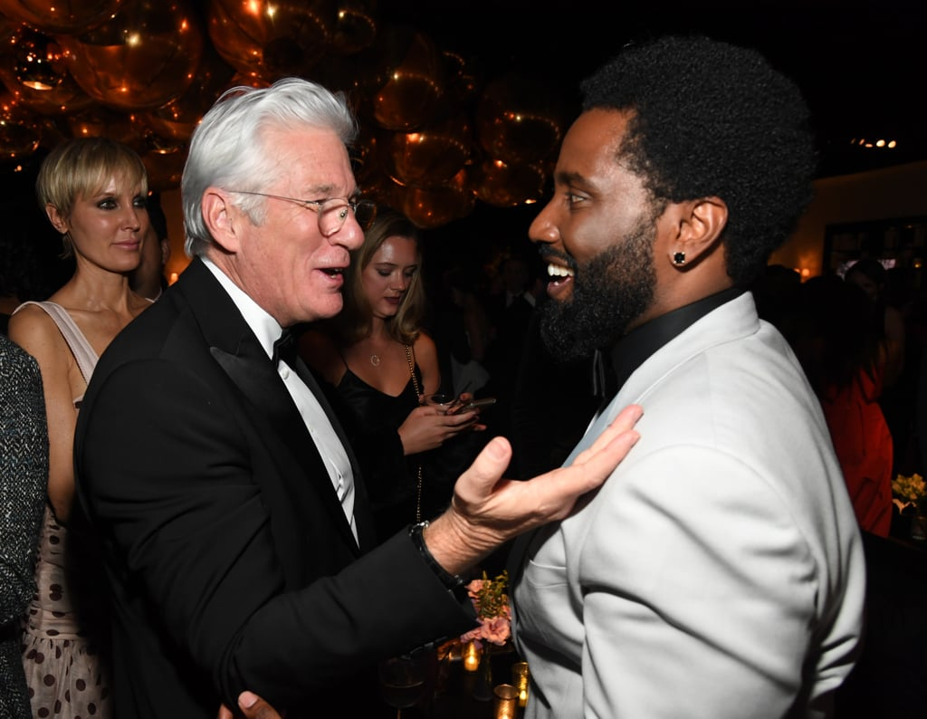 Pictured: Richard Gere and John David Washington