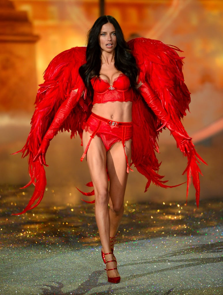 Adriana Lima Victoria's Secret Show Fashion Interview