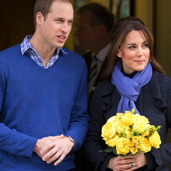 Kate Middleton Leaves the Hospital (Video)