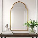 Wayfair x Kelly Clarkson Home Glam Distressed Accent Mirror