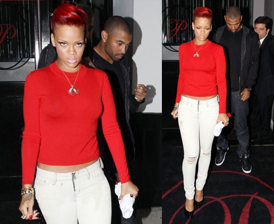 Who does rihanna date in Perth