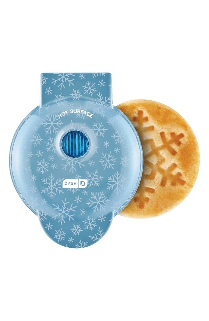 For Festive Treats: Dash Mini Waffle Maker