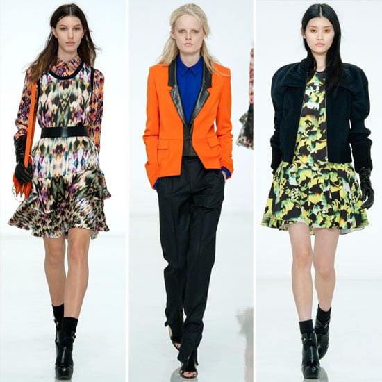 Review and Pictures of  ICB by Prabal Gurung 2012 Fall New York Fashion Week Runway Show