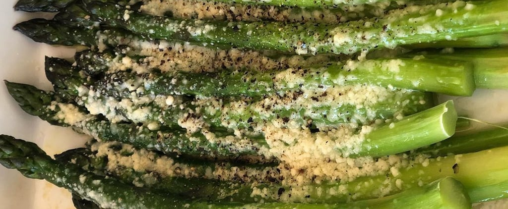 Ina Garten's Easy Cacio e Pepe Roasted Asparagus Recipe
