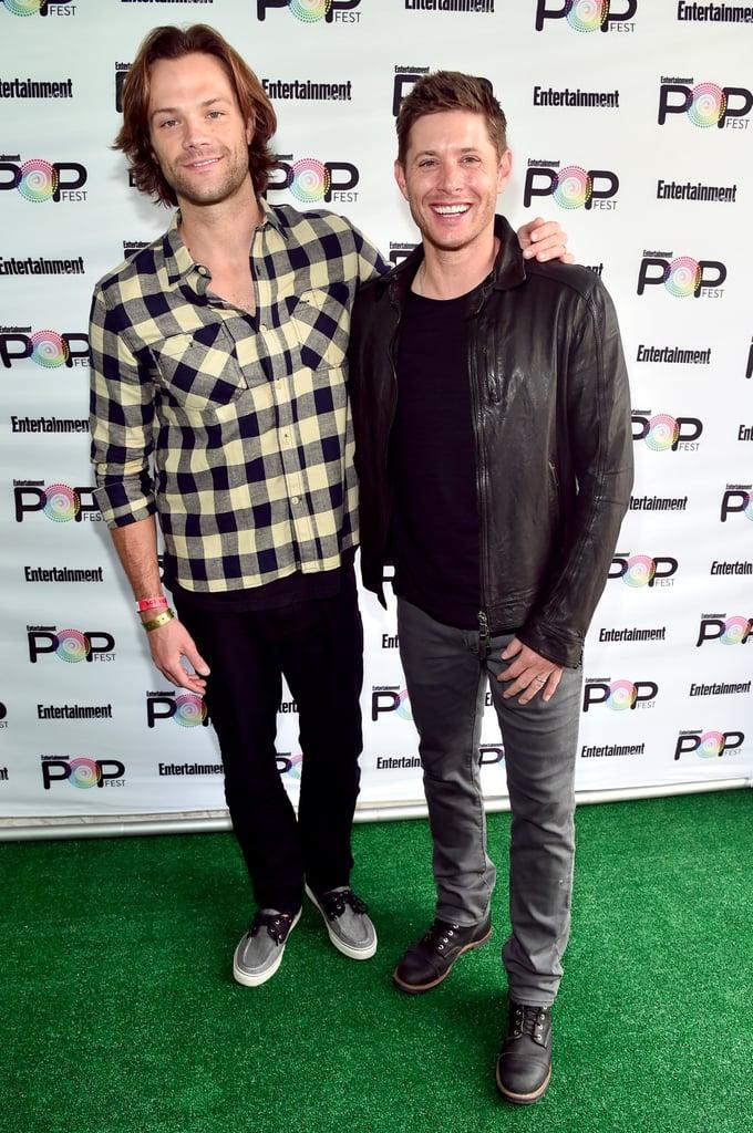 Jensen Ackles and Jared Padalecki at PopFest 2016