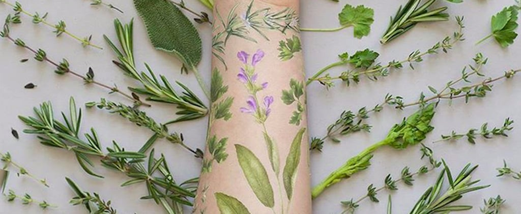 These Temporary Tattoos Aren't Just Gorgeous — They're Also Scented