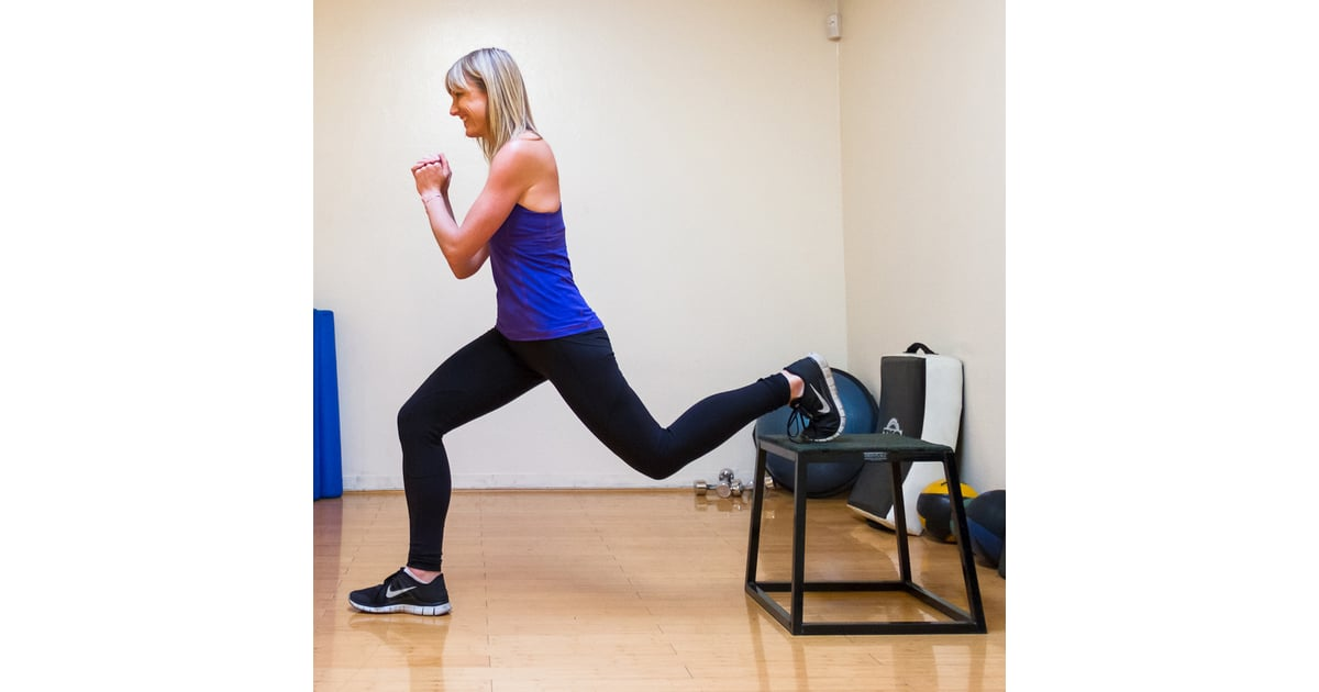 how to get lower on lunges