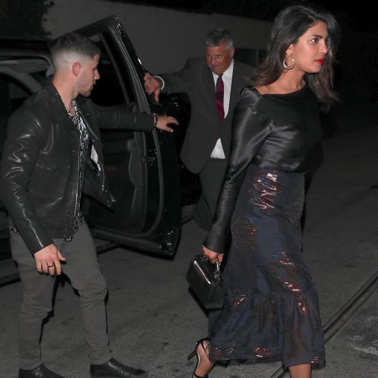 Nick Jonas and Priyanka Chopra on a Date in LA May 2018