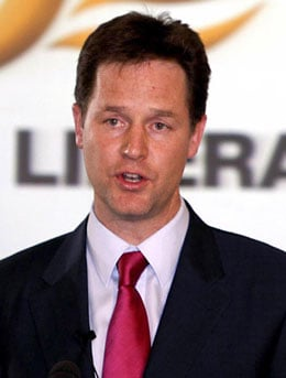 Pictures of Nick Clegg Who is New Deputy Prime Minister in Coalition Government