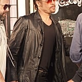 Brad Pitt Heads Back to Work Following a Weekend With Angelina and the Kids