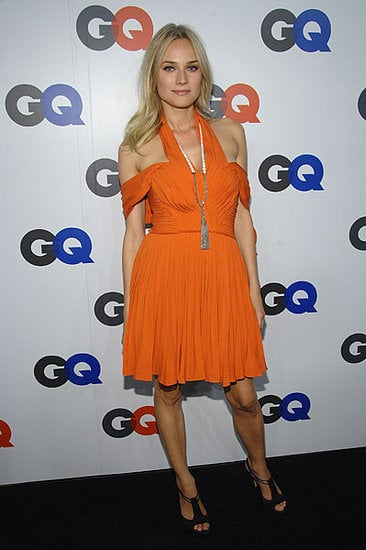 The Look For Less: Diane Kruger's Orange 3.1 Phillip Lim Dress