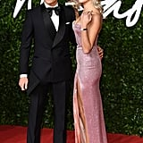 Oliver Cheshire and Pixie Lott at the British Fashion Awards 2019 in London