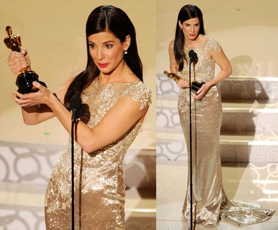 Photos and Quotes of Sandra Bullock From Press Room at the Oscars 2010-03-07 22:30:00