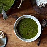 Green Soup With Garlic, Cilantro, and Scallions