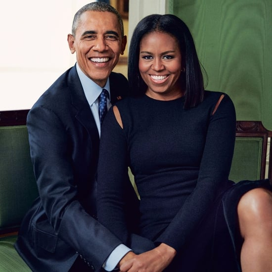 Michelle Obama Derek Lam Dress in People Magazine Dec. 2016