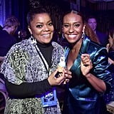 Yvette Nicole Brown and Ryan Michelle Bathe at Frozen 2 Premiere