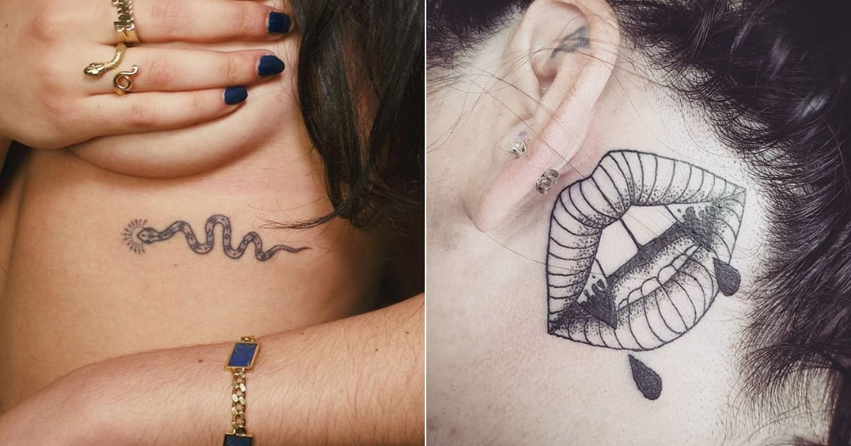 46 Sexy, Spooky Halloween Tattoos You Won't Regret in November