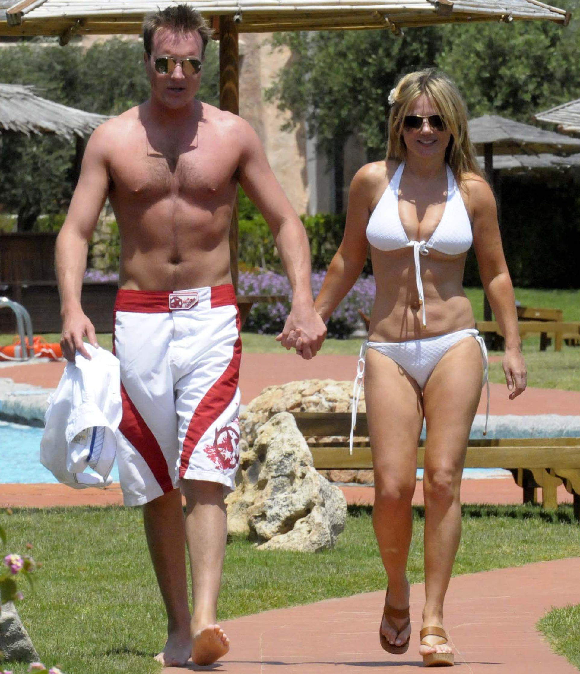Photos Of Geri Halliwell In A Bikini And Henry Beckwith On