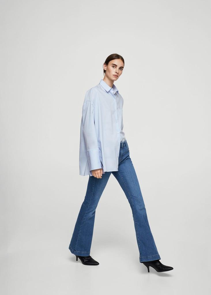 d8e8cee8fd Mango Flared Jeans