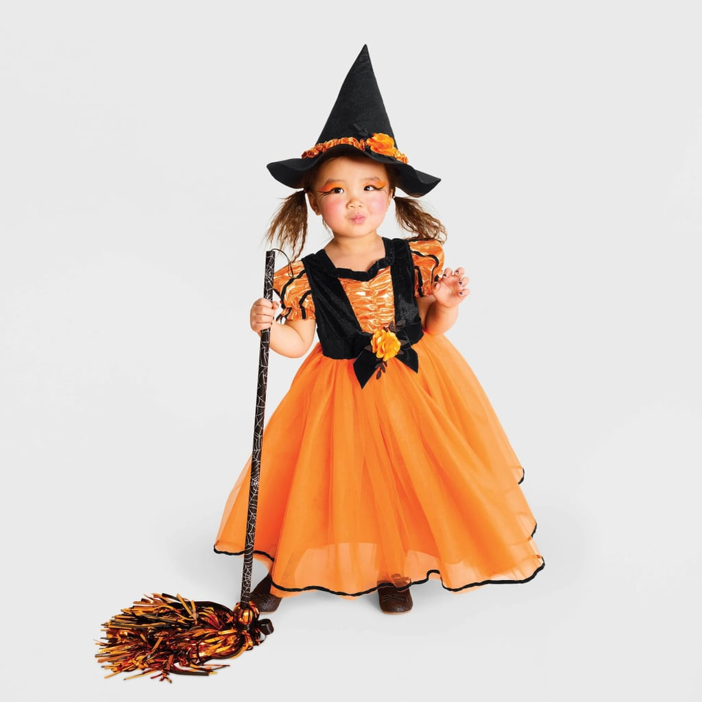 Toddler Girls' Fancy Witch Halloween Costume