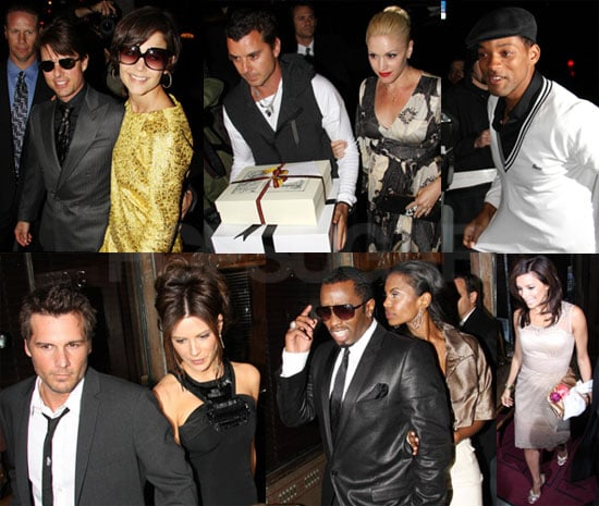 Victoria and David Beckham Celebrate Birthday With Tom Cruise and Katie Holmes, Will and Jada Smith, and More