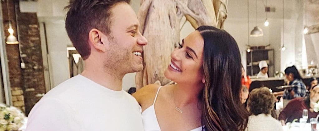 Lea Michele and Zandy Reich Married