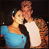 Jasmine and Rajah From Aladdin
