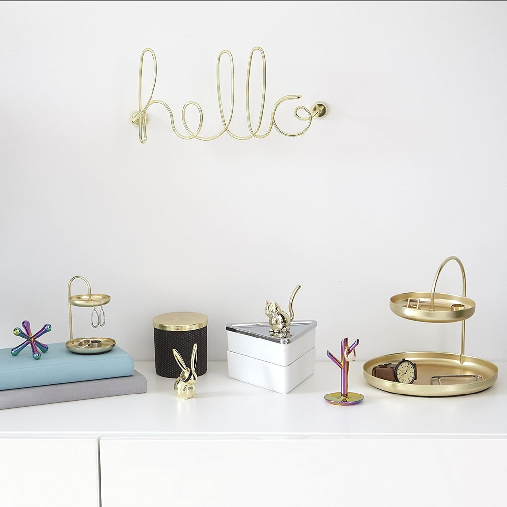 Umbra Wire Wall Decor, Hello | Designer Home Accessories ...