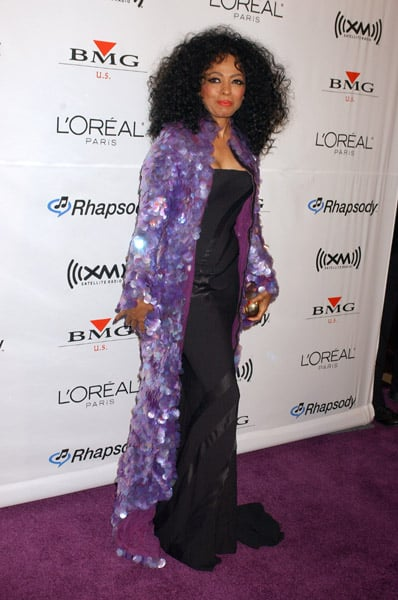 Diana Ross Memorable Outfits From The Grammys Popsugar