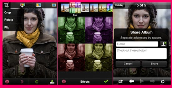 New Free Photoshop Application for iPhone