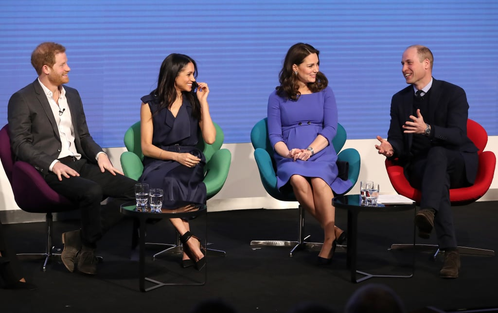 """When William Likely Cracked One of His Usual Jokes About Harry Raiding His Fridge and Meghan Was Like, """"OMG, Same!"""""""