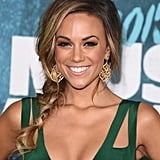 "Country singer Jana Kramer wore her braid with pieces plucked from the plait, perfect for a ""just romped in the hay"" look."