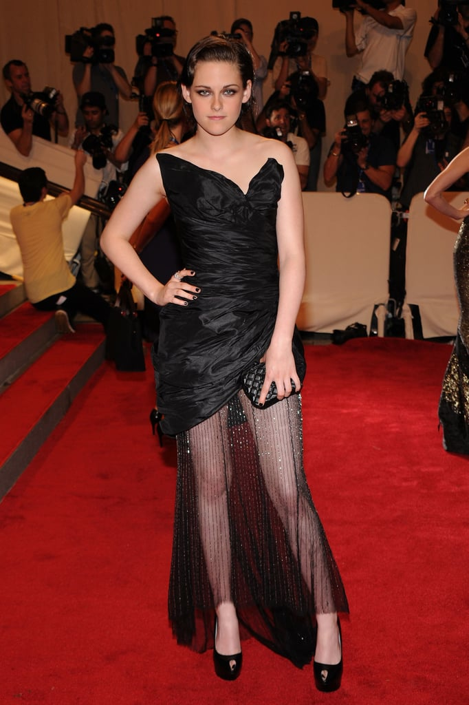 Pictures of Kristen Stewart at the 2010 Met Costume Institute Gala