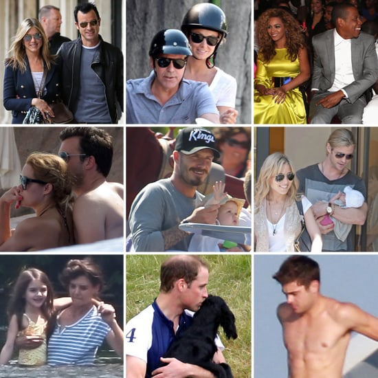 Celebrity Vacation Pictures Summer 2012