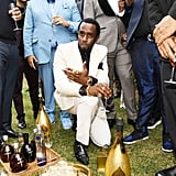 DJ Khaled, Diddy, and Guests at the 2020 Roc Nation Brunch in LA