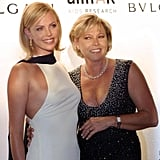 Charlize Theron brought her mom, Gerda, to the festival in 2001.