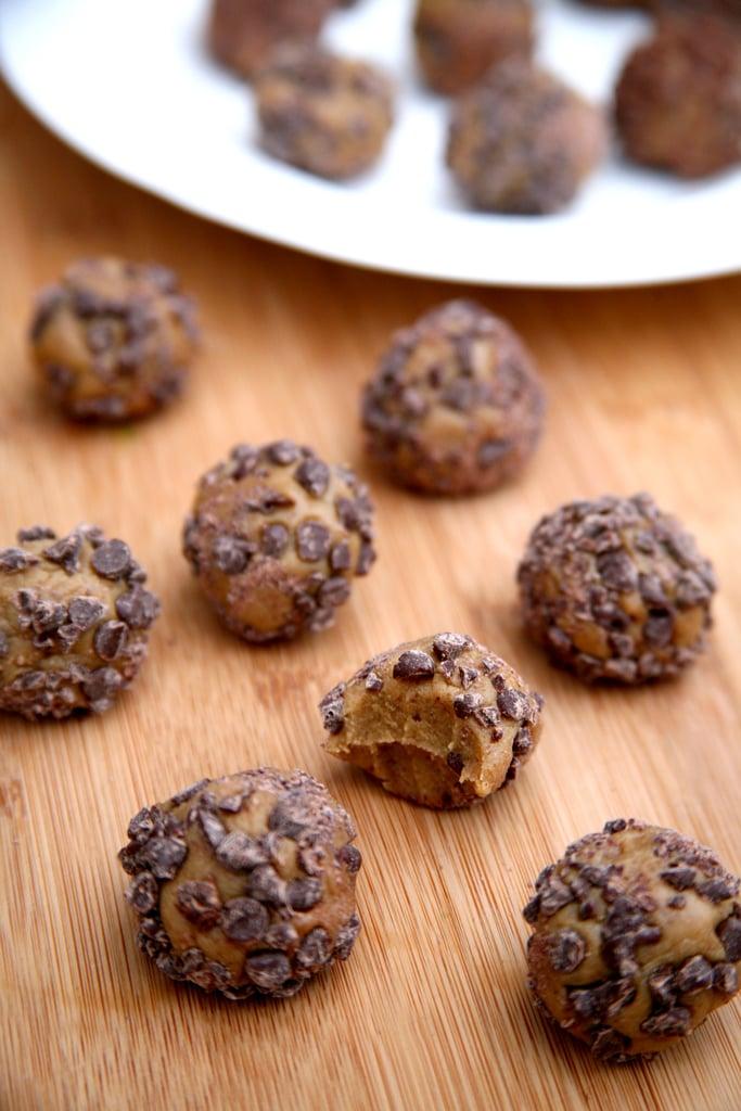 Chocolate Chip Peanut Butter Protein Balls