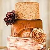 Wood-Inspired Cake