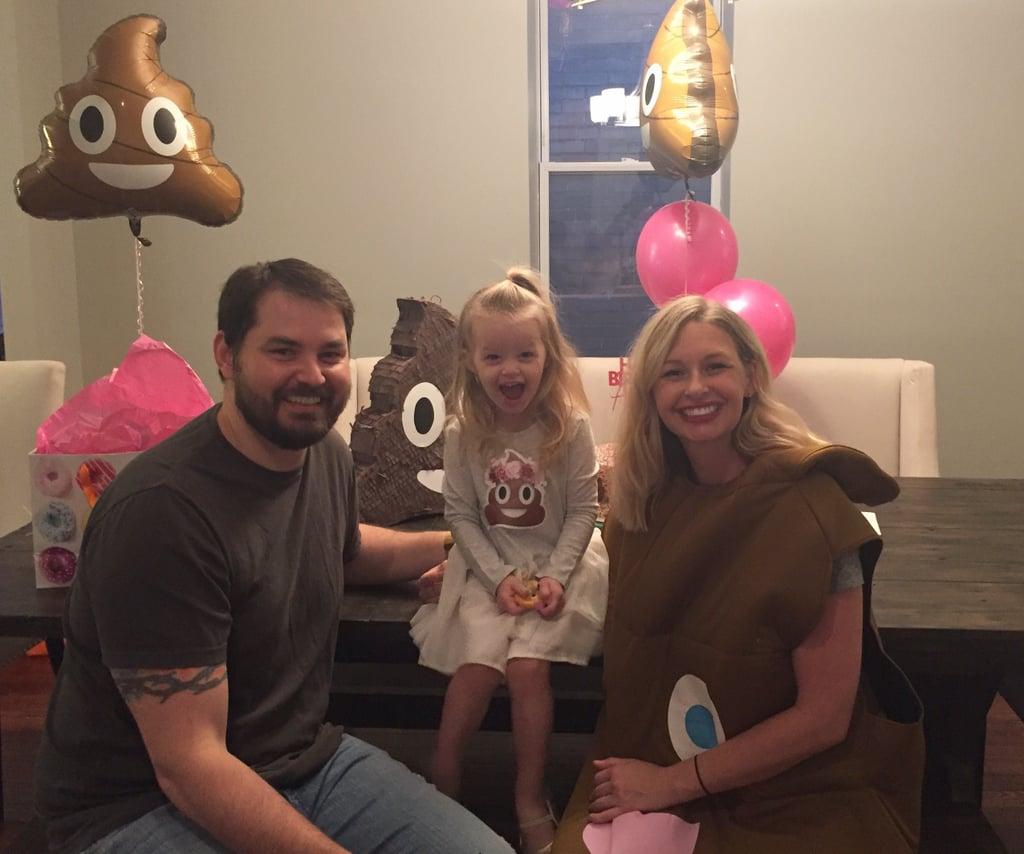 Kids Poop Emoji Birthday
