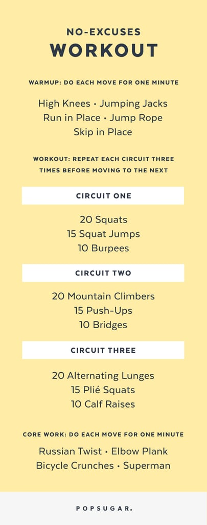Click for a printable PDF of this workout. Keep reading for detailed explanation of the exercises.