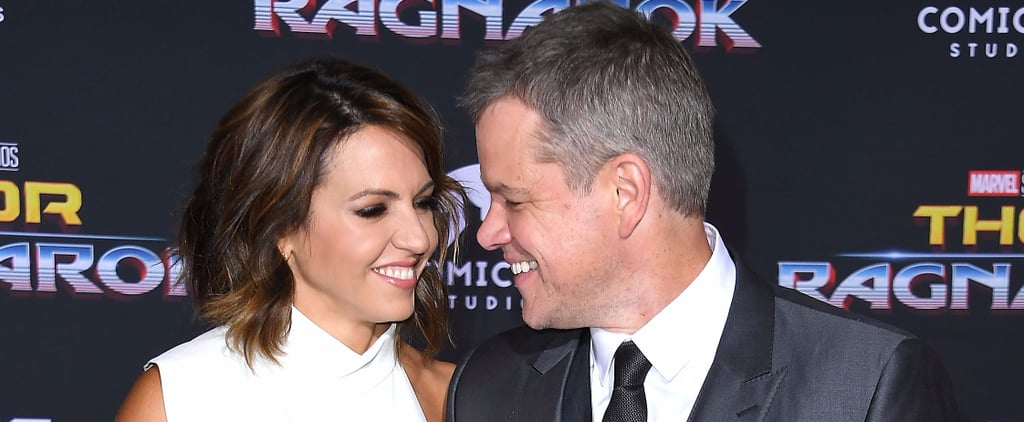Matt Damon at Thor Premiere After Harvey Weinstein Scandal