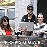 Penélope Cruz met up with her brother, Eduardo, and a pal in Spain.