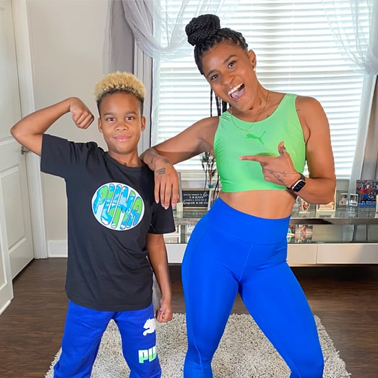 15-Minute Family At-Home Cardio Workout With Deja Riley