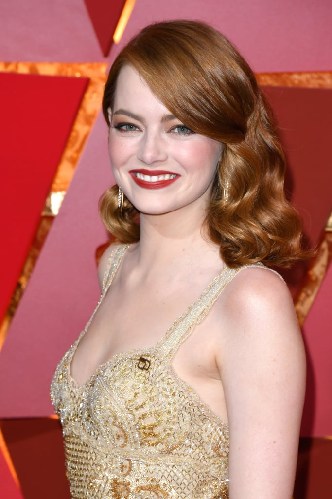 Emma Stone Does All Copper Everything For Her Oscar S