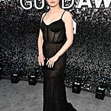 Joey King's Black Gown at the SAG Awards 2020