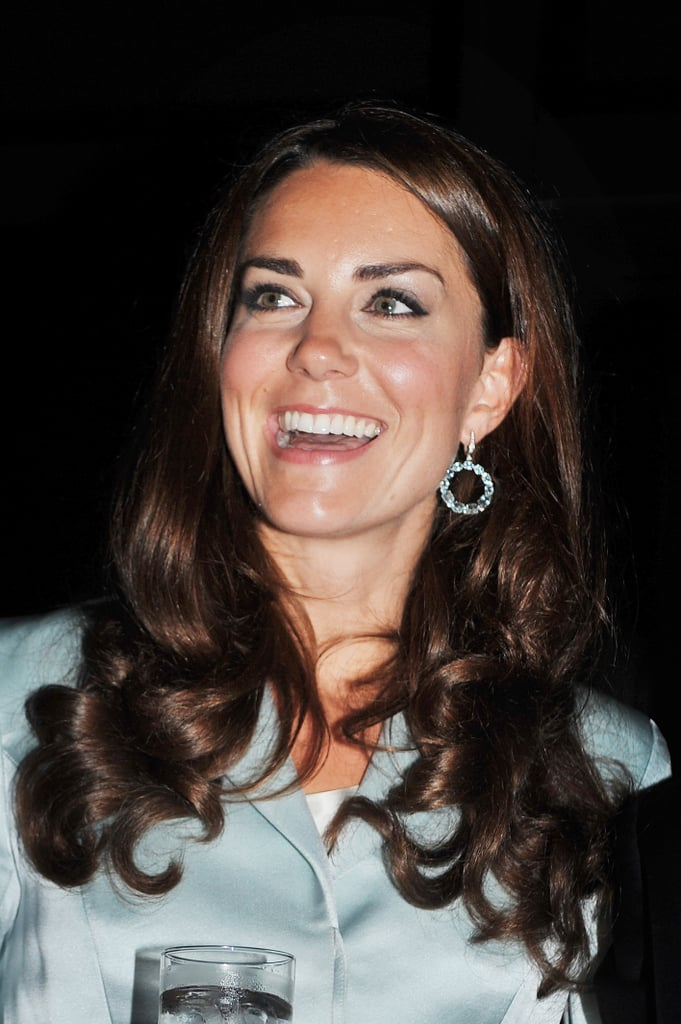 Kate Middleton laughed during the Opening Ceremony.
