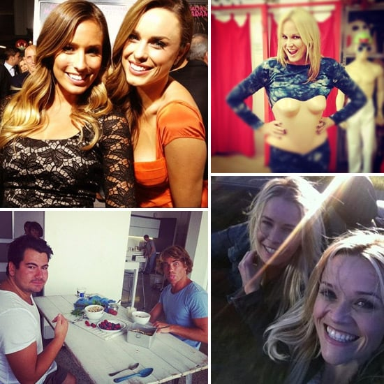 Fun and Funny Celebrity Twitter Pictures of Reese Witherspoon, Hayden Quinn, Jessica McNamee, Charlotte Dawson